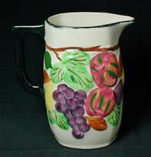 Vintage Blue Ridge Southern Potteries 32oz Sculptured Fruit Pitcher 1940s