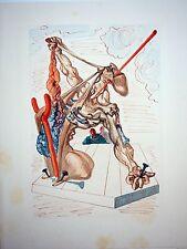 SALVADOR DALI - Divina comedia. Xilografia original 1960. 33 x 26 cm
