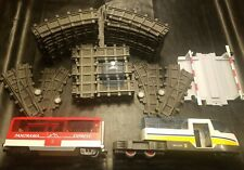 RARE Playmobil 4124 Panorama Express Passenger Train Car G-Scale 43 track pieces