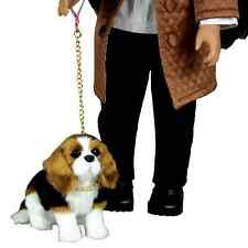 "A.W.S.O.M Animals Beagle Dog Fits 18"" American Girl Dolls Accessories, Puppy Pet"