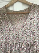 Ladies Maxi Floral Prairie Dress One Size