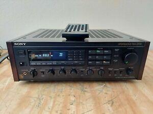Sony Gx10 Es Receiver Rare With Remote