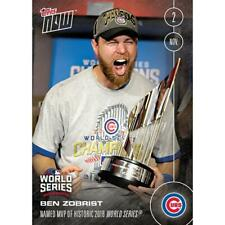 Topps NOW Named MVP Chicago Cubs Ben Zobrist Card #664A