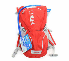 Camelbak Rogue 85oz Hydration Pack with 2.5L Bladder, Racing Red/Silver