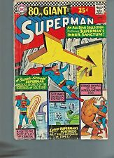 Superman #187 (1966)  VG/VG+ 5.0 80 Page Giant G23 25 cent cover