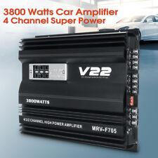 12V 3800 Watt RMS 4/3/2 Channel Car Audio Power Stereo Amplifier Amp MRV-705