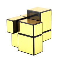 2x2x2 Golden Cube Magic Cube Smooth Speed ​​Cube Twist Puzzle Jouet