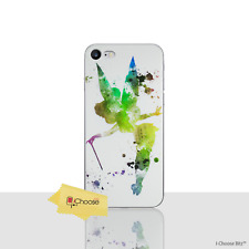 Disney Case/Cover For Apple iPhone 5/5s/SE / Screen Protector / Gel / Tinkerbell