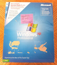 Microsoft Windows XP Professional UPGRADE with SP2 Retail (1 User/s) -USED VG