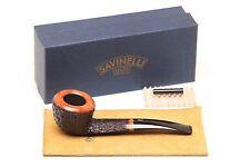 Savinelli Porto Cervo Rustic 316 KS Tobacco Pipe