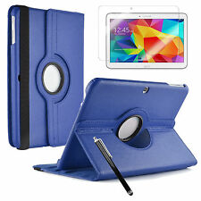 """Samsung Galaxy Tab 4/ 3 / A / E 9.6"""" Smart 360 Degree Rotating Tablet Case Cover"""