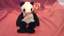 TY Beanie Babies FORTUNA il fortunato PANDA 6 DICEMBRE 1997