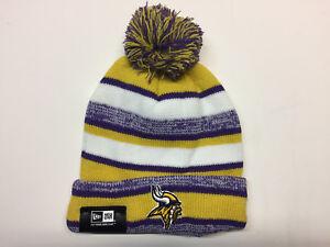 Minnesota Vikings winter hat one size knit beanie Sam Bradford New Era Adult