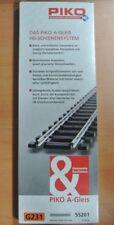 PIKO 55201 Paquet 6 Droit G231, 231mm H0 A-Voie