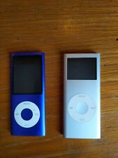 Apple iPods lot 2gb & 8gb. Silver and purple