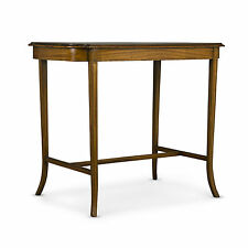 SATINWOOD & INLAID OCCASIONAL TABLE