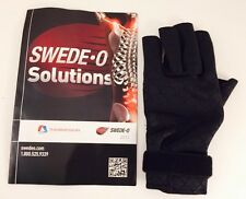 New! Swede-O Solutions Thermoskin Carpal Tunnel Black Glove Left- Size Large