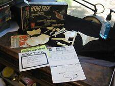 1989 AMT Ertl Star Trek Space Ship Set Model Kit 6677 w/ Box Enterprise BOP