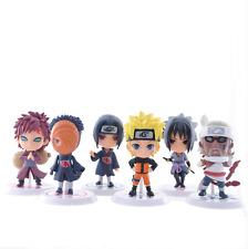 Naruto Uzumaki Naruto Uchiha Sasuke action figur ensemble de six personnes