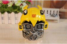 Anime Transformers Optimus Bumblebee Helmet Head Figure Ashtray Desk Decor gift