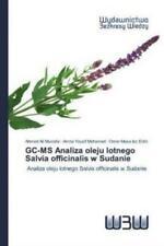 GC-MS Analiza oleju lotnego Salvia officinalis w Sudanie Analiza oleju lotn 5948