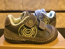 Boys  Cinder Brown Chase StrideRite Non-Tie Shoes Infant Boys Size 3 1/2 W