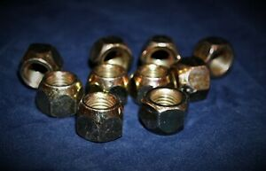 10 pcs m12x1.5 19mm hex Plain open  Lug Nuts ( Dorman 611-062 Equivalent) NN-062