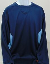 Rawlings Blue Long Sleeve Baseball Sweatshirt Mens Large