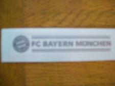 FC Bayern München Auto Aufkleber - Silber