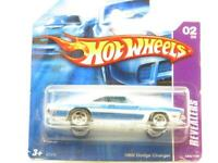 Hotwheels 1969 Dodge Cargador Reveladores K7575 058 Corta Tarjeta 1 64 Escala
