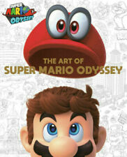 The Art Of Super Mario Odyssey Nintendo Book New Free Shipping