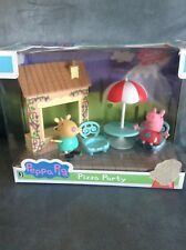 PEPPA PIG GEORGE PIZZA PARTY PLASTIC PLAY SET - BRAND NEW IN BOX FOR AGES 2+