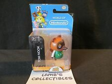 "World of Nintendo Tom Nook from Animal Crossing Jakks Pacific toy 2.5"""