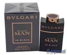 Bvlgari MAN IN BLACK 2.0 oz 60 ml Bulgari Men Cologne EDP Spray Brand New In Box