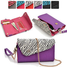 Lady Link Wallet Case & Crossbody Clutch Cover for Smart-Cell-Phones CRSL5