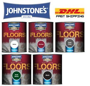 Johnstone's Garage Floor Paint Semi Gloss All Colours Resist Oil & Grease Spills