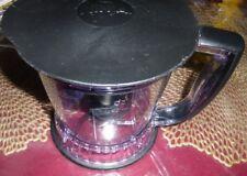 Ninja Food Processor Bowl with Lid and Blade- QB1004 40 oz / 5 cup