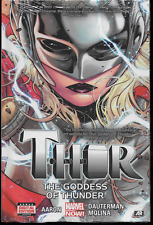 Thor Goddess of Thunder Vol 1 by Jason Aaron 2015, Hardcover Marvel Comics OOP