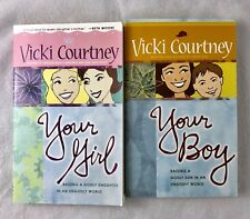 Lot Of 2 Spiritual Books For Mother's By Vicki Courtney-Your Boy/Your Girl