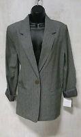 "NWT Womens ""Sag Harbor"" Black, Navy, & Gray Suit Blazers (Sz 8,10,12,14,16,18)"