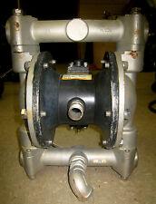"Yamada Model NDP-25BST-XS Air Operated Diaphragm Pump, 1"" diameter, 316 SS"