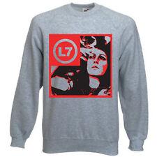 L7 Banda T camisa para mujer Grunge Punk Cd Con Capucha Raro Dvd Sweater