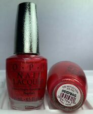OPI Designer Series Nail Polish Reflection DS 30 Red Holographic Lacquer