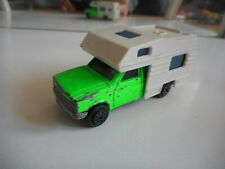 Majorette Camping Car in Light Green/White