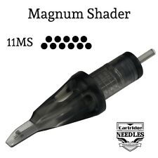 Tattoo Cartridge Needles X 20 - 11 Magnum Shader Works With Cartridge Pen