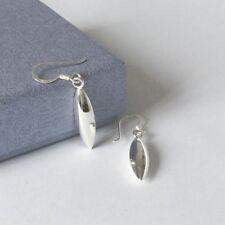 925 Sterling Silver classic drop earrings