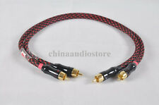 0.5m 1.6ft Pair Quality RCA Phono Intercontact Cable Audio W/ Canare Wire