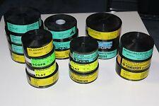 Lot of 20 - 35mm Film Movie Trailer Trailers 2001 2002 Unused Matrix Bourne
