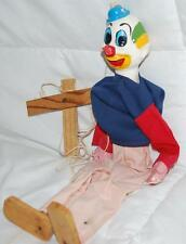 "15.5"" VINTAGE HAND PAINTED WOOD PUPPET/MARIONETTE"