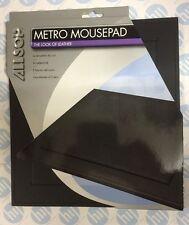 Mousepad Mouse Matt elegante aspecto de cuero Allsop Metro 06308